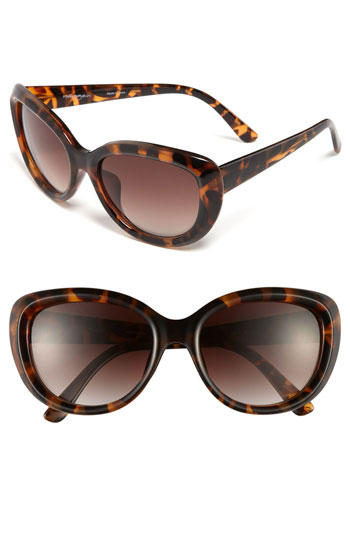 halogen cat eye sunglasses