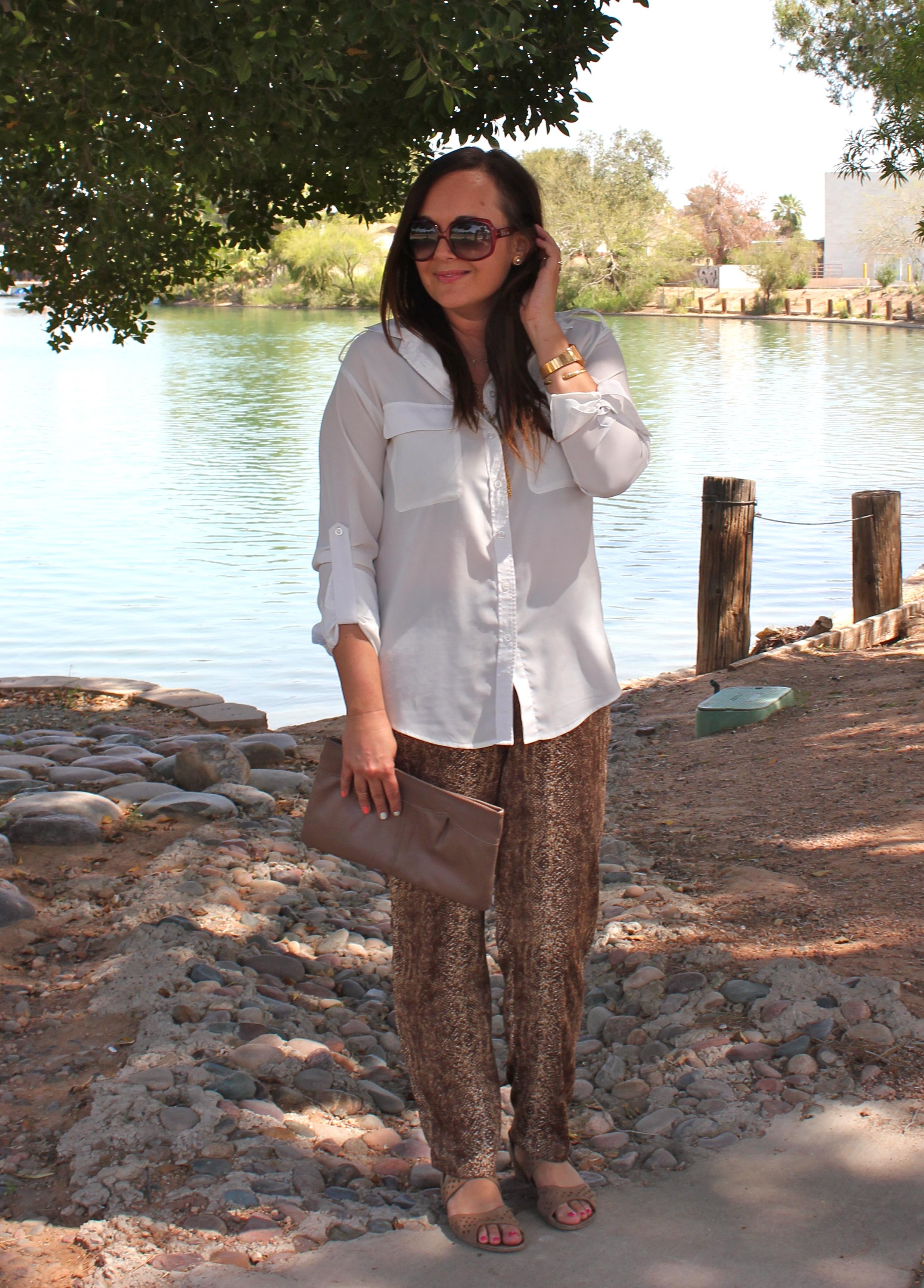 style python pajama pants