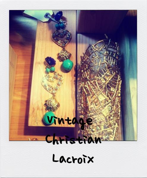 vintage christian lacroix