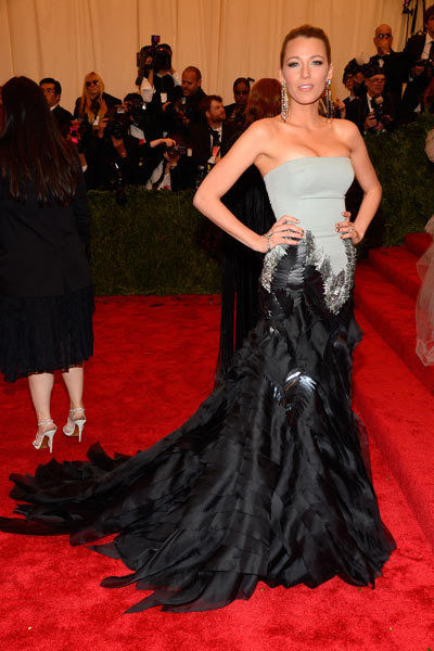 blake lively in gucci, met gala 2013 gucci, blake lively,
